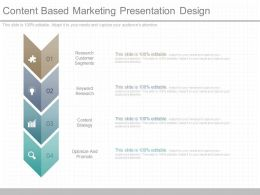 A Content Based Marketing Presentation Design