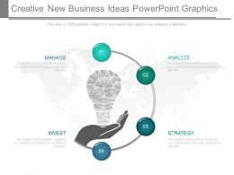 A Creative New Business Ideas Powerpoint Graphics
