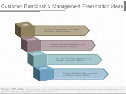 A Customer Relationship Management Presentation Ideas