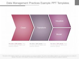 A Data Management Practices Example Ppt Templates