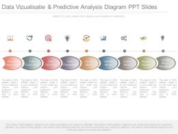 A Data Vizualisatie And Predictive Analysis Diagram Ppt Slides
