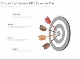 A Ethics In Workplace Ppt Example File
