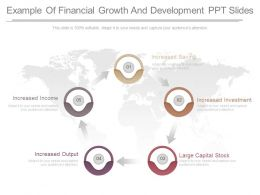 A Example Of Financial Growth And Development Ppt Slides