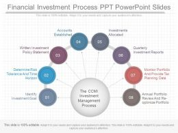 A Financial Investment Process Ppt Powerpoint Slides