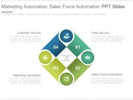 A Marketing Automation Sales Force Automation Ppt Slides