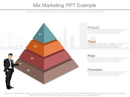 A Mix Marketing Ppt Example
