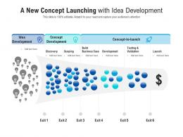 A New Concept Launching With Idea Development
