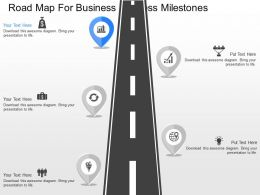 a_roadmap_for_business_success_milestones_powerpoint_template_Slide01