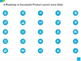 A Roadmap To Successful Product Launch Icons Slide Ppt Powerpoint Presentation Infographic