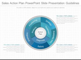 A Sales Action Plan Powerpoint Slide Presentation Guidelines