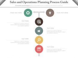 a Sales And Operations Planning Process Guide Powerpoint Slides
