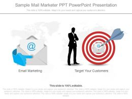 A Sample Mail Marketer Ppt Powerpoint Presentation
