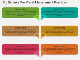 a_six_banners_for_visual_management_practices_flat_powerpoint_design_Slide01