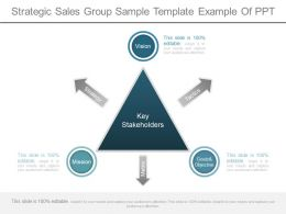 A Strategic Sales Group Sample Template Example Of Ppt