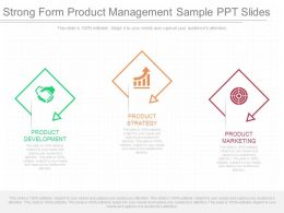 A Strong Form Product Management Sample Ppt Slides