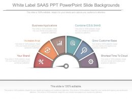 A White Label Saas Ppt Powerpoint Slide Backgrounds