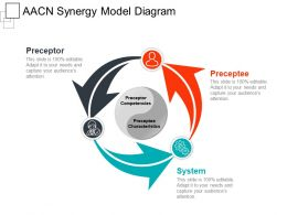 Aacn Synergy Model Diagram Ppt Presentation