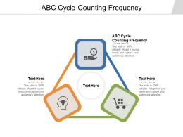ABC Cycle Counting Frequency Ppt Powerpoint Presentation File Background Cpb