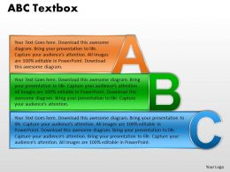 ABC Text Box For Business Presentation 10