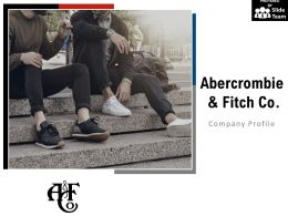 Abercrombie And Fitch Co Company Profile Overview Financials And Statistics From 2014-2018