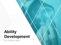 Ability Development Powerpoint Presentation Slides