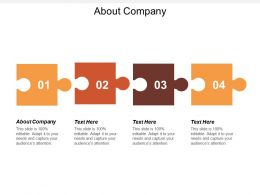About Company Ppt Powerpoint Presentation Diagram Graph Charts Cpb