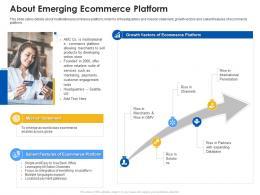 About Emerging Ecommerce Platform Ecommerce Platform Ppt Rules