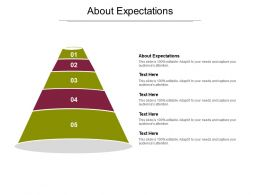 About Expectations Ppt Powerpoint Presentation Model Template Cpb