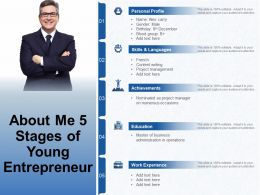 About Me 5 Stages Of Young Entrepreneur
