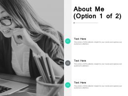 About Me Agenda F276 Ppt Powerpoint Presentation Outline Slide Portrait