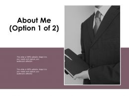 About Me Audiences Attention D157 Ppt Powerpoint Presentation File Gridlines