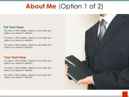 About Me Example Of Ppt