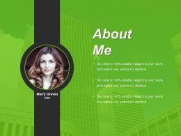 About Me Example Of Ppt Presentation