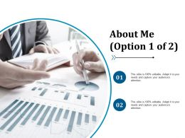 About Me Example Presentation About Yourself Ppt Icon Designs Download
