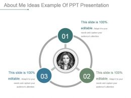 About Me Ideas Example Of Ppt Presentation