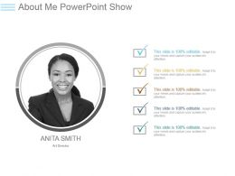 About Me Powerpoint Show