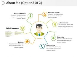 About Me Sample Of Ppt Presentation