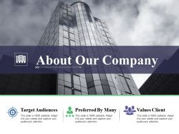 About Our Company Business Ppt Powerpoint Presentation Layouts Themes