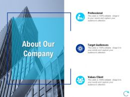 About Our Company L806 Ppt Powerpoint Presentation Show Designs