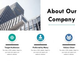 About Our Company Ppt Example File