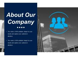 About Our Company Ppt Inspiration