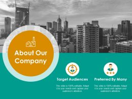 About Our Company Ppt Styles Template