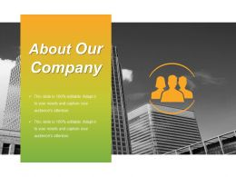 About Our Company Presentation Visuals