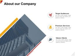 About Our Company Services H99 Ppt Powerpoint Presentation Icon