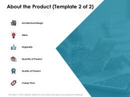 About The Product Architectural Design Ideas C590 Ppt Powerpoint Presentation Outline Designs Download