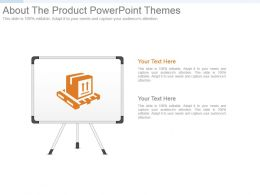 About The Product Powerpoint Themes