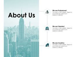 About Us A56 Ppt Powerpoint Presentation Show Sample