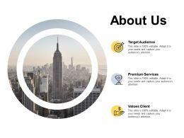 About Us Bizbok Organisation Framework C105 Ppt Powerpoint Presentation Infographic Template Slide