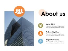 About Us Building Ppt Powerpoint Presentation Diagram Graph Charts