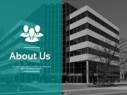 About Us Business A410 Ppt Powerpoint Presentation Styles Gridlines